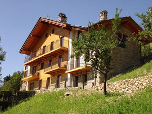View of Terra Alpina from Garden